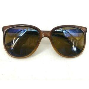 Vuarnet VTG Nautilux Brown Sunglasses Green Tint